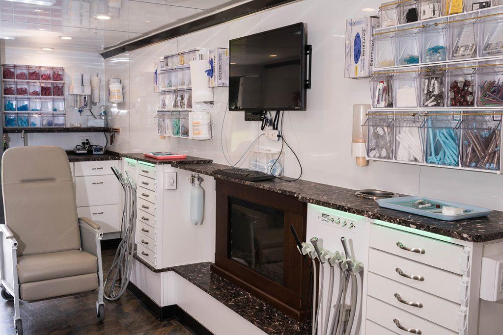 Mobile Dentistry Inside View