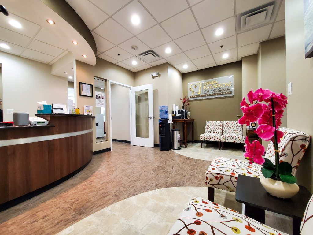 Dental Innovations of Virginia - front office wide angle